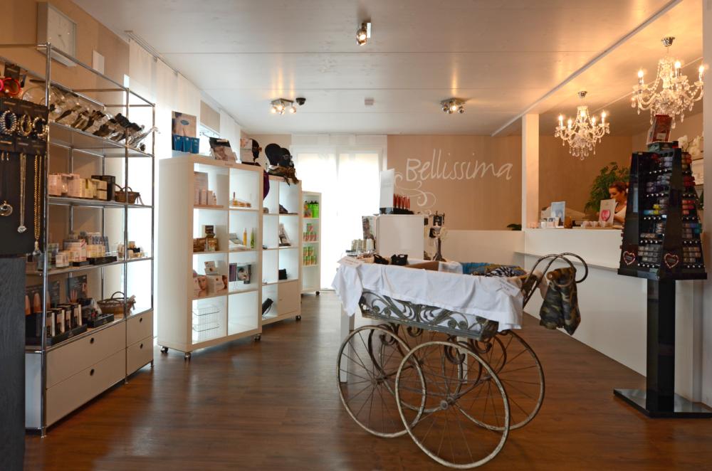 Bellissima Kosmetikartikel, Verkaufsraum